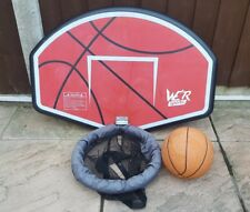 Trampoline Basketball Hoop Board Fits To Safety Net Pole 6ft 8ft 10ft 12ft