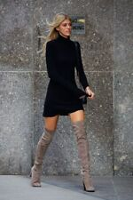 Stuart Weitzman All Legs Thigh High Over The Knee Topo Suede Boots 8 US