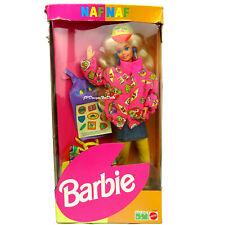 1993 Naf Naf Barbie Doll New in Very Worn Damaged Box