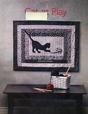 Cat At Play Quilt Pattern Pieced/Applique NV