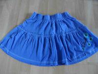 O´NEILL schöner Jersey Stufenrock blau Gr. XS TOP (OA814)