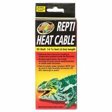 Zoo Med Repti Heat Cable 25 Watts (14.75' Long) Rhc-25