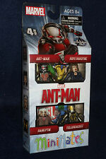 Marvel MiniMates ANT-MAN Movie Action Figure Box Set Yellow Jacket Hank Pym Hope