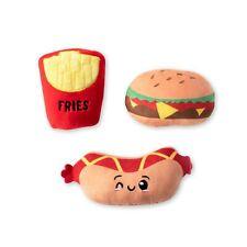 Fringe Studio Fast Foods Plush Dog Toy