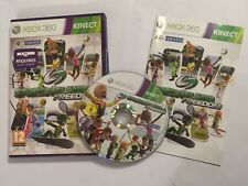 XBOX 360 KINECT GAME SPORTS ISLAND FREEDOM +BOX INSTRUCTIONS COMPLETE PAL GWO
