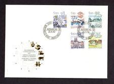 SCOTT# 717-721 Switzerland Swiss Signs of Zodiac Issue FDC Helvetia Envelope