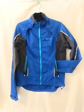 Women's Sugoi Zap High Visibility Convertible Cycling Jacket (Blue, Small)
