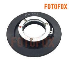 Pentax 110 Lens to Micro 4/3 m4/3 Adapter G1 G2 G3 G10 GH1 GH2 GF1 GF2 EP1 EP2