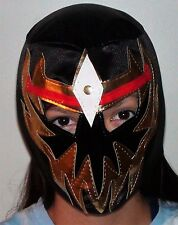 WWE wrestling mask black youth or adult halloween