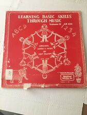 Hap Palmer - Learning Basic Skills Through Music Volume II - LP -  AR 522