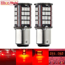 2X 1157 Car Led Light BAY15D P21/5W Tail Brake Stop Bulb Lamps Red Motorcycle 6V