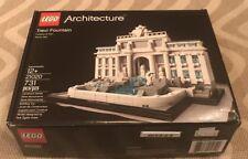 Lego Architecture Trevi Fountain (21020) - Original Box and Instructions