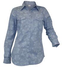 Geblümte locker sitzende Damenblusen, - tops & -shirts im Blusen aus Baumwolle