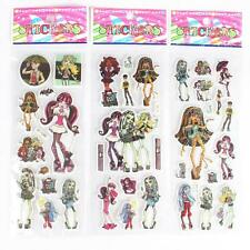 10 X Adesivi Monster High Party Bag Filler Festa di Compleanno Favori