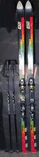 Elan DRC Dual Reflex Cap 35 Skis with Salomon 700 Bindings & Scott Extreme Poles