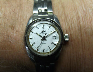 PHILIP WATCH - FINE LADY - CARIBBEAN PHILMATIC DATE - ALL S. STEEL - SWISS MADE