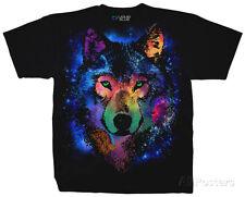 Nature - Cosmic Wolf Apparel T-Shirt XL - Black