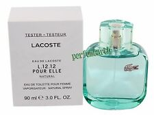 Eau De Lacoste L.12.12 Pour Elle Natural EDT Tstr 3.0oz/90ml Spray Women Tstr
