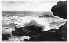 Br47727 Saint Pierre Quiberon effet de vague ala pointe de manemeu France