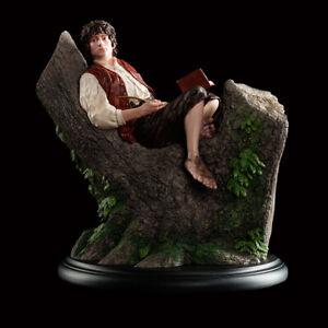 Weta Workship Lord of the Rings Mini Statue Frodo Baggins in Tree Hobbit LOTR