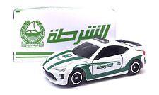 JAPAN TOMY TOMICA TOYOTA 86 DUBAI POLICE CAR 1/60 DIECAST RARE LIMITED EDITION
