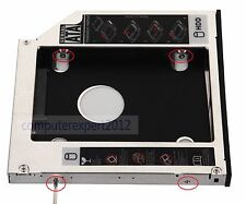 2nd HDD SSD HD Hard Drive Caddy SATA for Dell XPS 15 L501X 1640 1645 N7110 N7010
