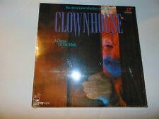 CLOWNHOUSE - Cult Slasher Horror - Laser Disc -  R-Rated - Psychological Triller