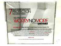 WorryNoMore Furniture Cleaning Protection Kit Leather Fabric Wood New Sealed