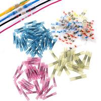 100 Wire Connectors Heat Shrink crimp Connector Kit Waterproof 10-12 14-16 18-22
