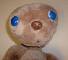 "E.T. The Extra Terrestrial Stuffed Plush 12"" - Vintage Showtime Kamar CLEAN NM"