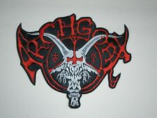 ARCHGOAT BLACK METAL EMBROIDERED BACK PATCH