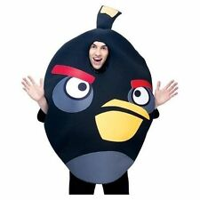 Adult / Men's Angry Bird - Black Bird Costume One Size Fits Most NIB