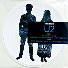 "U2 Lights Of Home LIMITED EDITION RSD 2018 New Vinyl Picture Disc 12"" Single"
