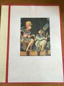Vintage Collectables about Egypt: private collection of historic prints