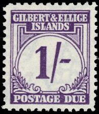"GILBERT & ELLICE J7 (SG D7) - Numeral of Value ""Postage Due"" (pf31948)"