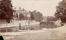 Watford. The Pond.