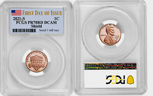 PRE-SALE 2021-S Lincoln Cent Penny, PCGS PR70 PR70DCAM DCAM Gem Proof
