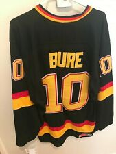 Vancouver Canucks Pavel Bure Jersey #10 w/ Fighting Strap
