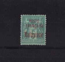 Madagascar  colonie Francaise  de 1895  5c  vert   num:  14  neuf sg