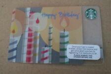 Starbucks Card UK - 2010 HAPPY BIRTHDAY **Mint Condition**