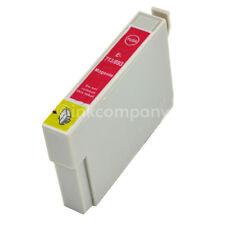 1 Tintenpatrone Druckerpatrone kompatibel zu EPSON T0713 XL MAGENTA ROT mit Chip