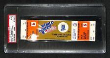 1985 WORLD SERIES GAME 6 FULL TICKET KANSAS CITY ROYALS 9TH INNING WALK OFF PSA