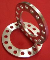 """2 pc 1/4"""" BILLET ALUMINUM WHEEL SPACERS 2010 and older 8x6.5 Chevy GMC 2500 3500"""