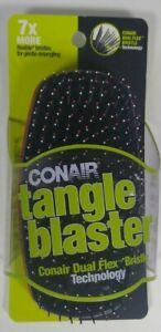 Conair Tangle Blaster   Brush Dual Flex Bristle Technology Red #86265