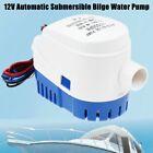 12V 1100GPH Marine Boat Automatic Bilge Water Pump RV Auto Submersible Pump US photo