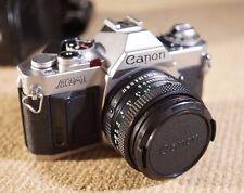 Canon AV-1 SLR film camera with 50mm f1.8 Canon FD Prime lens