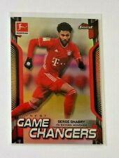 Gnabry Bayern München Topps Finest Bundesliga 2020-21 Game Changer