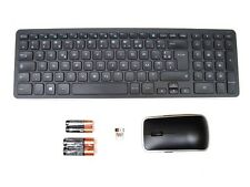 DELL KM714 Wireless Keyboard & WM514 Mouse Set Combo FRENCH FRANCAIS Layout NEW