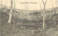 c1910 Lithograph Postcard; Natural Bridge at Hahatonka, Camden County MO