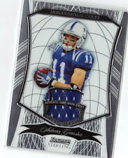 Anthony  Gonzalez   # 28 / 39   Blue Game Worn  JERSEY  Card  Colts Ohio State